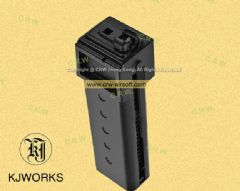 KJ Works 30rd Long Magazine for KC02 .22 (10/22) GBB Rifle